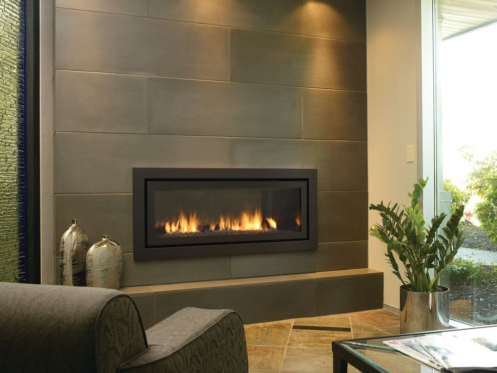 Regency Fireplace for a Contemporary Living Room with a Contemporary and  Gas Fireplaces and Inserts by - Regency Fireplace For A Modern Living Room With A Recessed