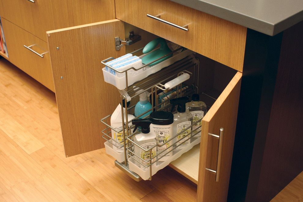 Republic Plumbing Supply for a Contemporary Spaces with a Tips to Organize Your House and Urban Loft – Storage Solutions by Dura Supreme Cabinetry