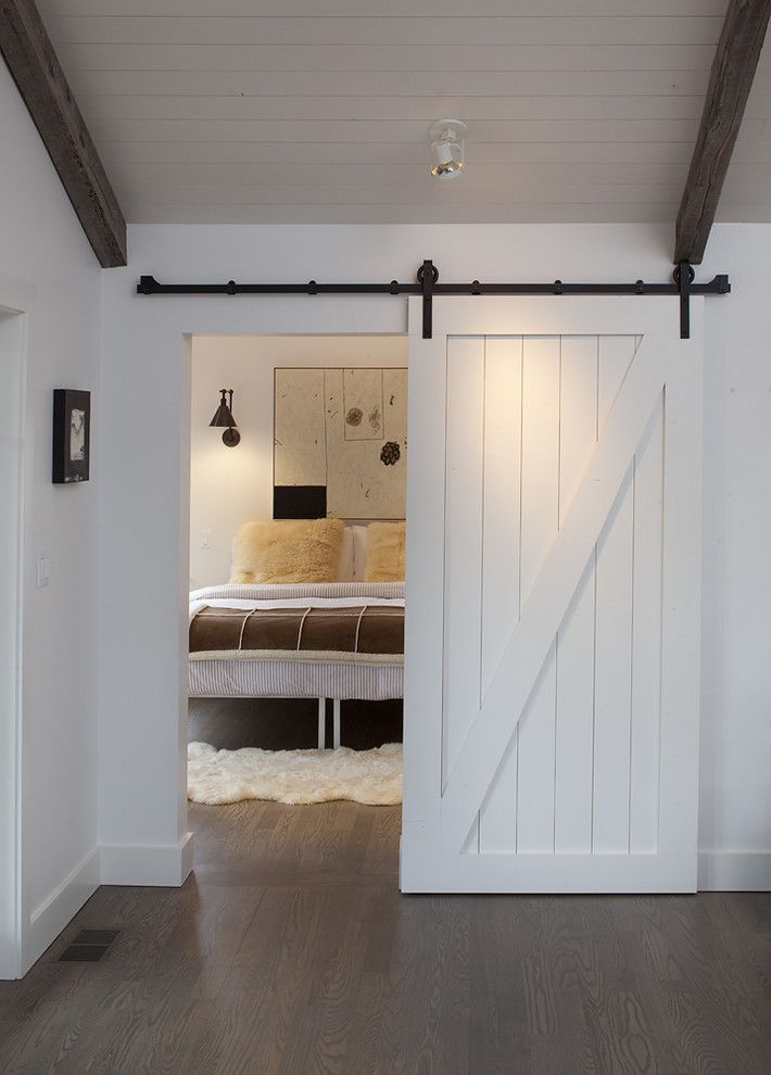 Restoration Hardware.com for a Farmhouse Bedroom with a Dark Floor and Mill Valley by Artistic Designs for Living, Tineke Triggs