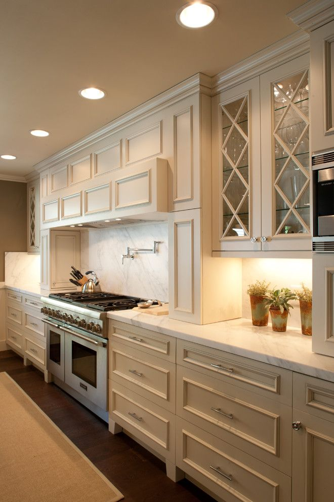 Reuse Hawaii for a Contemporary Kitchen with a Frame and Panel Cabinets and Painted Kitchen by Barton Woodworks