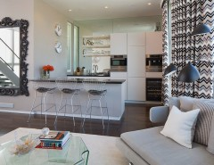 Reuse Hawaii for a Contemporary Kitchen with a Neutral Color Scheme and Dijk Residence/ San Francisco by Doyle McCullar