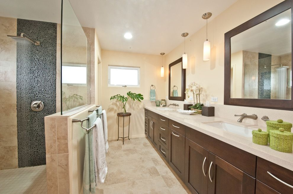 Reuse Hawaii for a Transitional Bathroom with a Bathroom Remodel and Kitchen & Bathroom Remodel Hawaii by Ferguson Bath, Kitchen & Lighting Gallery