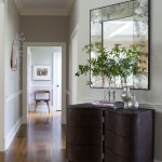 Revere Pewter for a Contemporary Hall with a University Park and Washington, Ct, Home by S. B. Long Interiors