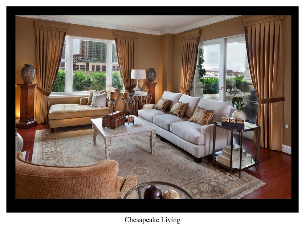 Ritz Carlton Baltimore for a Eclectic Living Room with a Baltimore Symphony Show House and Baltimore Symphony Showhouse at the Ritz by Gina Fitzsimmons Asid