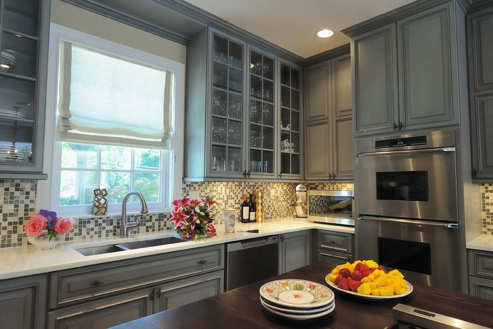Riverhead Building Supply for a Traditional Kitchen with a Kitchen and Locust Valley, New York by Riverhead Building Supply
