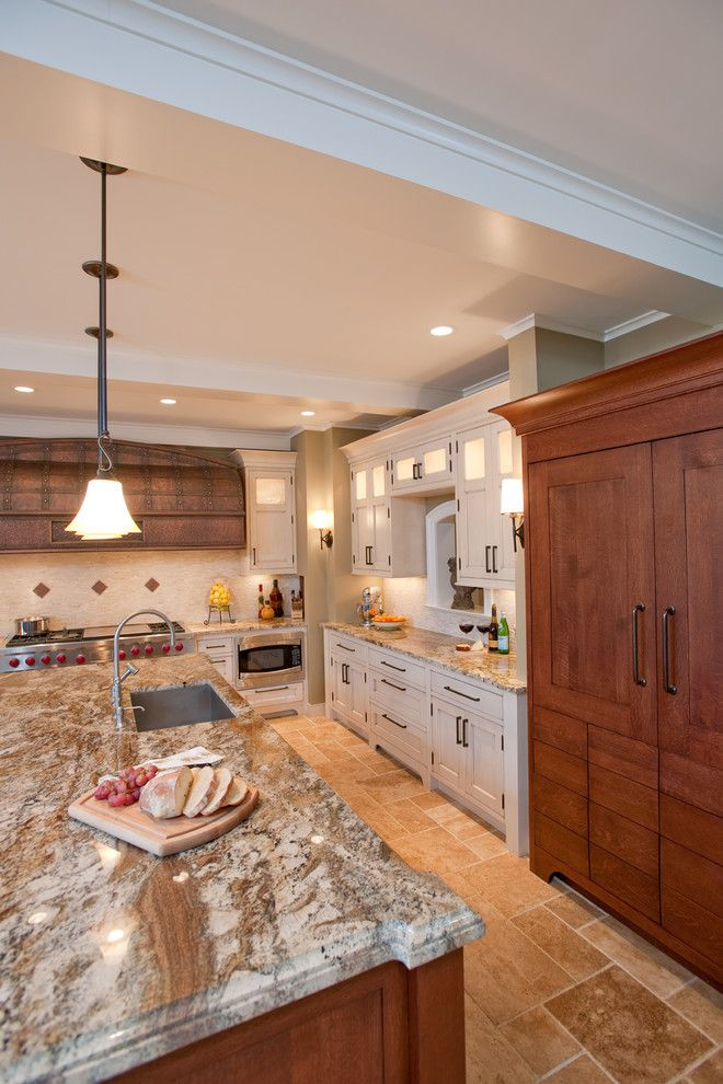 Riverhead Building Supply for a Traditional Kitchen with a Window to Dining Room and Remsenburg, New York by Riverhead Building Supply