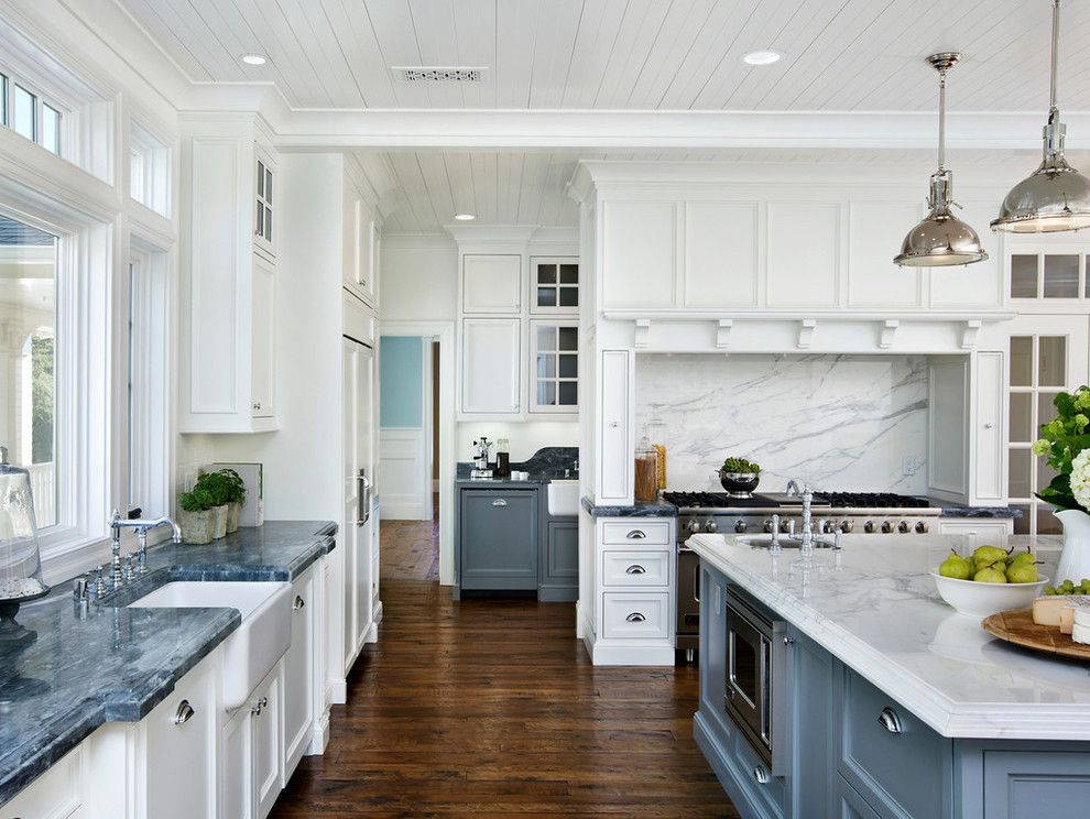 Robson Homes for a Craftsman Kitchen with a Island Refrigerator and the Thrash House   Historic Renovation in Los Gatos, Ca by Robson Homes
