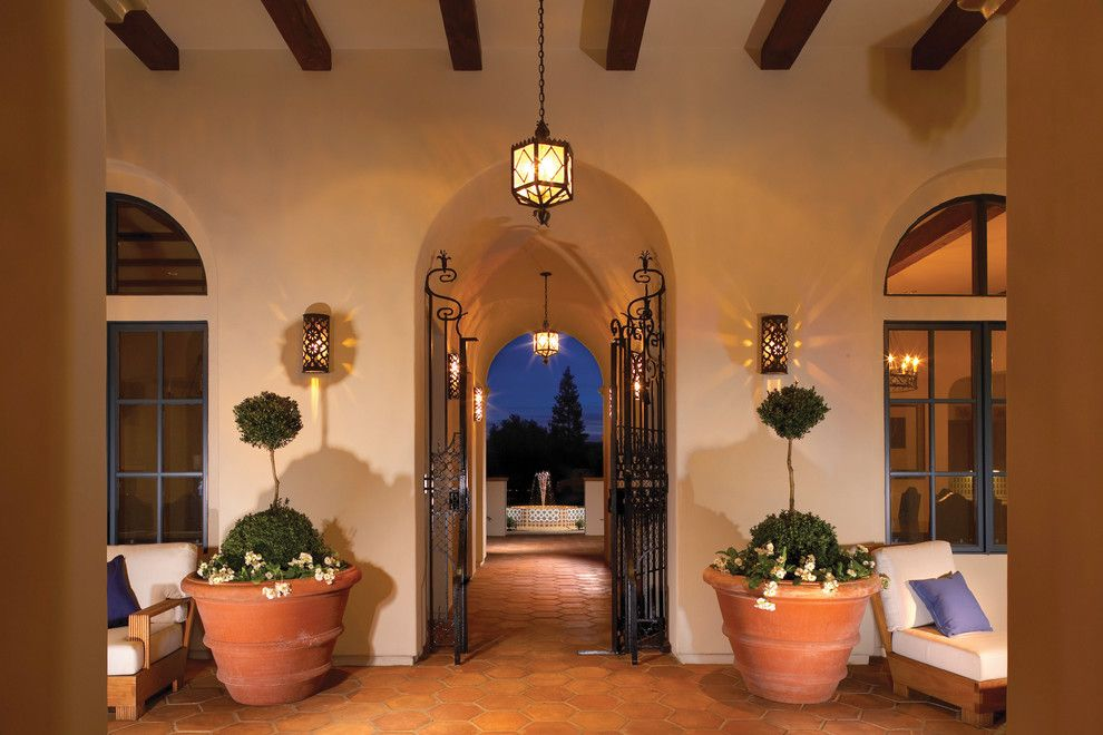 Robson Homes for a Mediterranean Exterior with a Iron Gate and Encanto in San Jose, Ca by Robson Homes