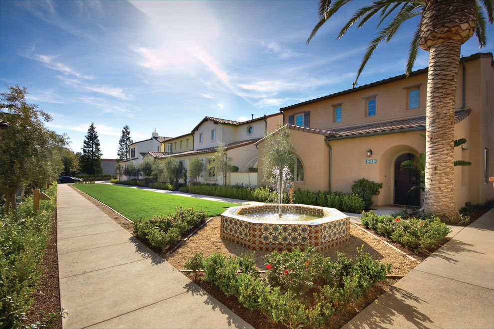 Robson Homes for a Mediterranean Exterior with a Landscaping and Encanto in San Jose, Ca by Robson Homes