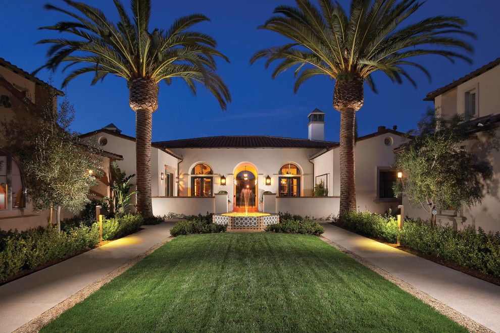 Robson Homes for a Mediterranean Exterior with a Stucco and Encanto in San Jose, Ca by Robson Homes