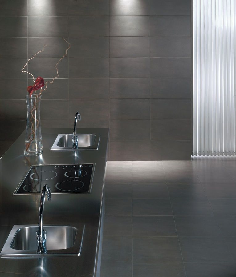 Roca Tile for a Contemporary Kitchen with a Bathroom Tile and Tile Products by Armcraft Inc.