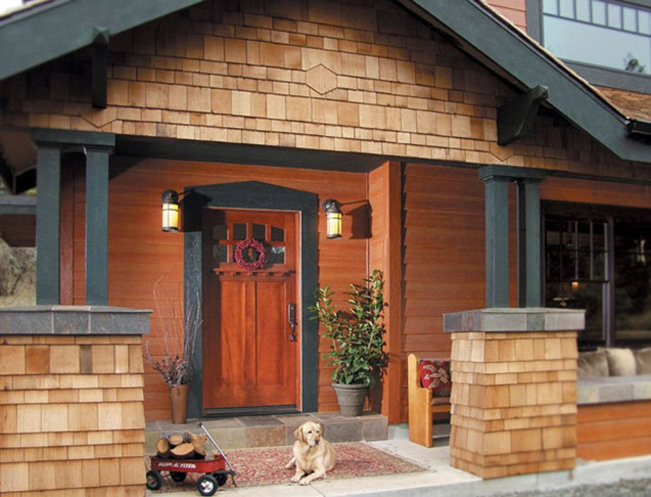 Rogue Valley Doors for a Craftsman Exterior with a French Door and Doors by Rogue Valley Door