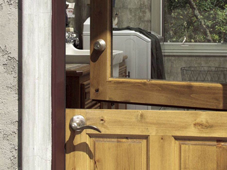 Rogue Valley Doors for a Craftsman Laundry Room with a Arched Entry and Doors by Rogue Valley Door