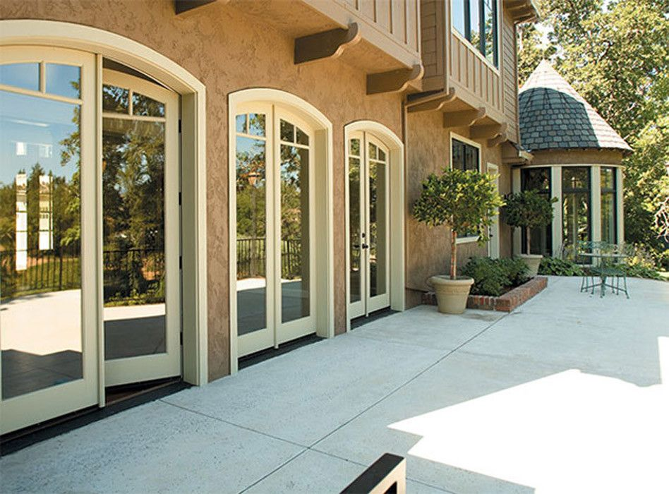 Rogue Valley Doors for a Mediterranean Patio with a French Door and Doors by Rogue Valley Door