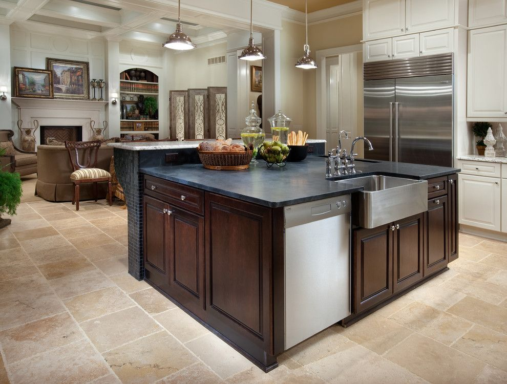 Romanelli and Hughes for a Mediterranean Kitchen with a Open Gourmet Kitchen and Tartan Ridge Lot 88 by Romanelli & Hughes Custom Home Builders