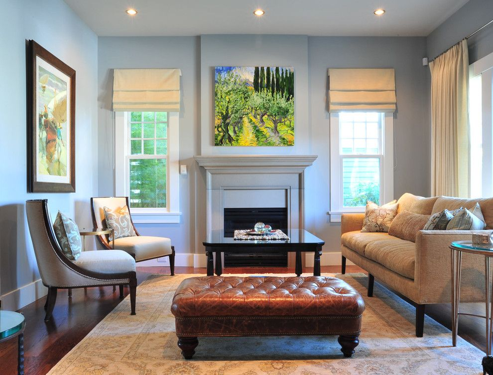 Rotmans Furniture for a Traditional Living Room with a Wood Flooring and Enviable Designs Inc. by Enviable Designs Inc.