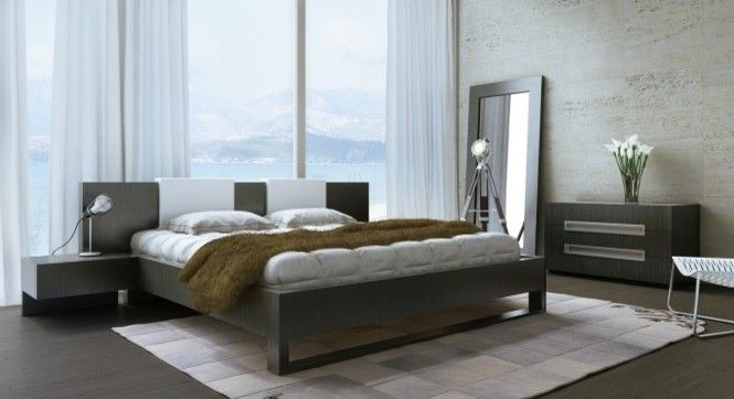 Rove Concepts for a  Bedroom with a Modloft and Monroe Bed by Modloft | Supplied by Rove Concepts by Rove Concepts