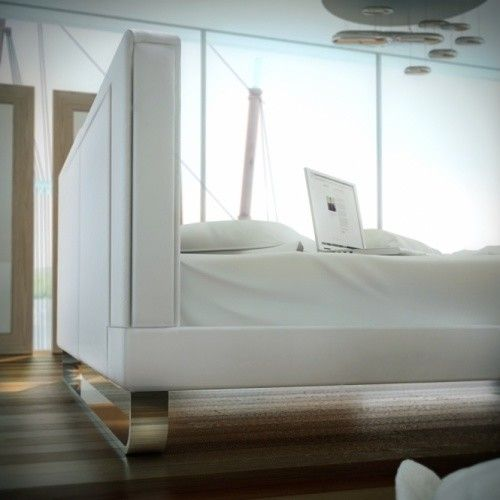 Rove Concepts for a Contemporary Bedroom with a Modern Bed and Chelsea Bed by Modloft | Supplied by Rove Concepts by Rove Concepts