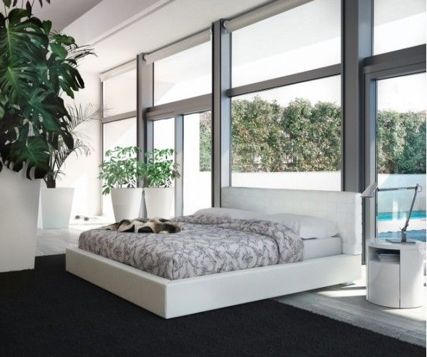 Rove Concepts for a Contemporary Bedroom with a Modern Bed and Madison Bed by ModLoft | Supplied by Rove Concepts by Rove Concepts