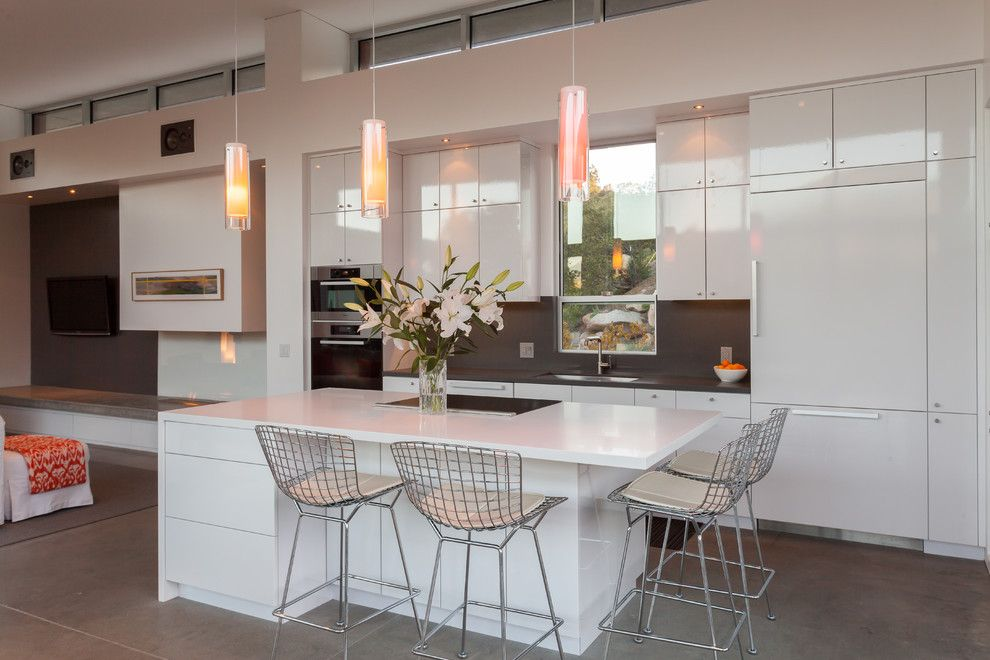 Rrm Design Group for a Contemporary Kitchen with a Indoor Outdoor Living and Montecito Hills Residence by Rrm Design Group