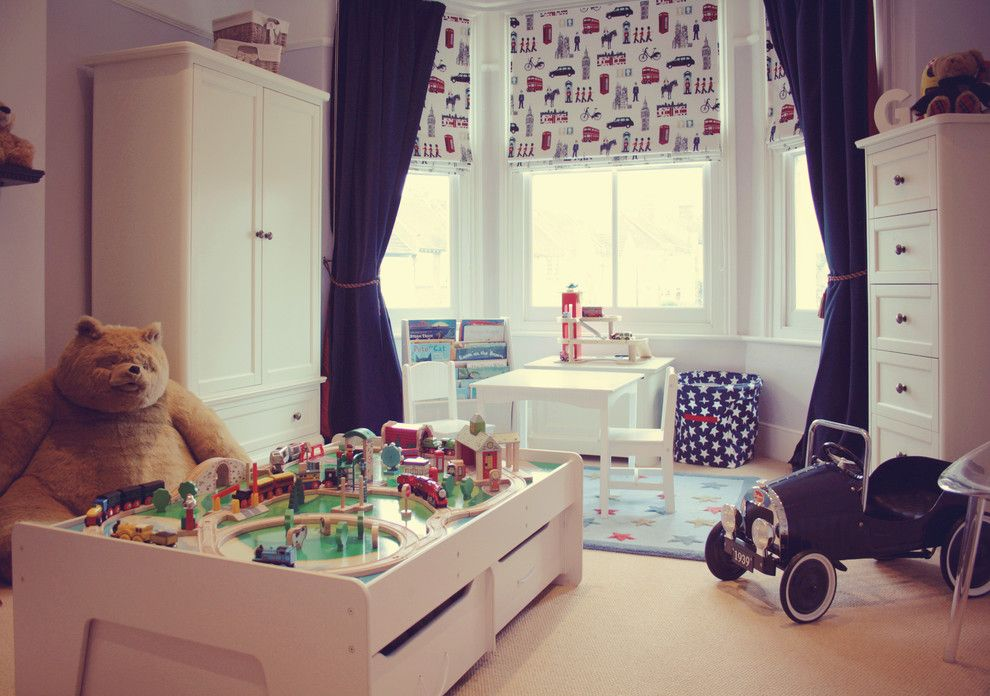 Rudy Furniture for a Traditional Kids with a Kids Furniture and George's Bedroom Age 3 by My Bespoke Room Ltd