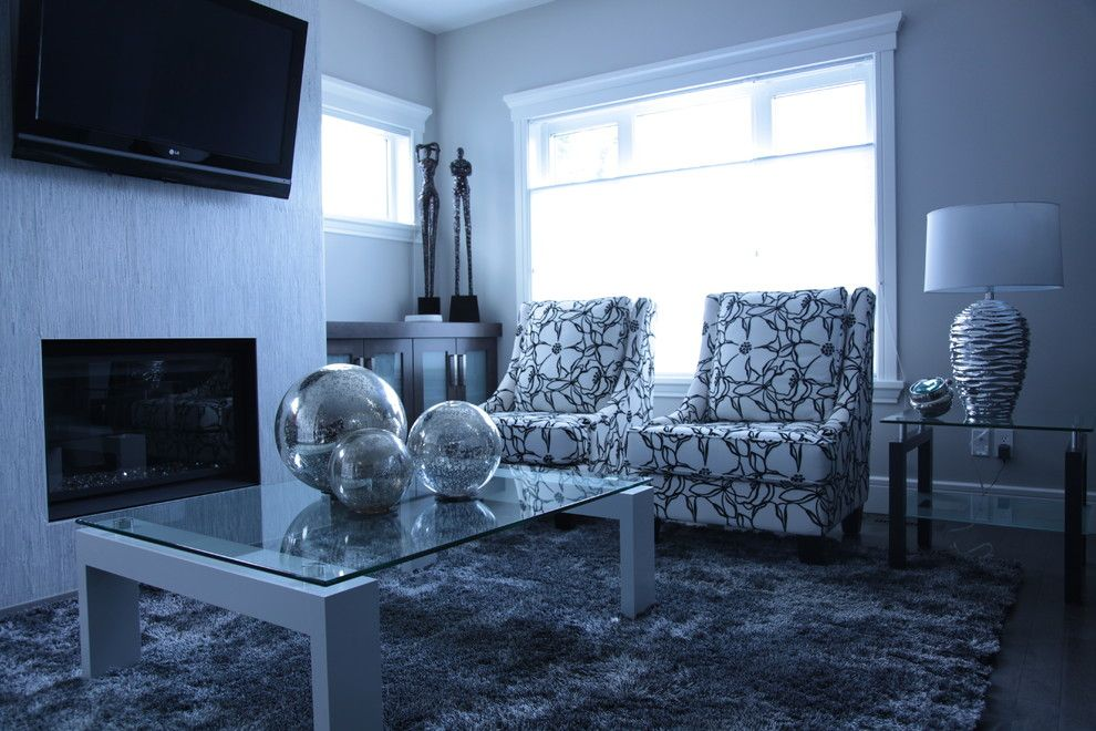 Rugstudio for a Contemporary Living Room with a Contemporary and Killarney Infill by Candice Arcuri Interiors