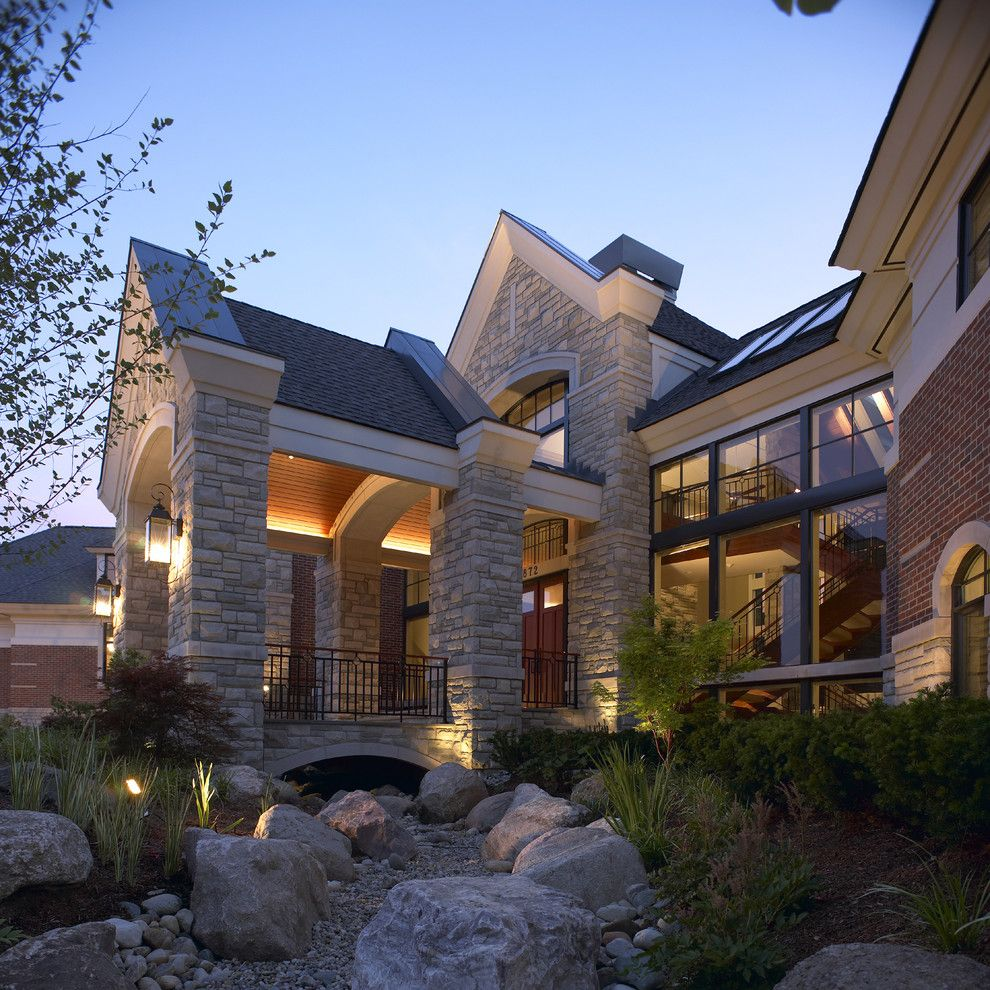 Runnings Bismarck Nd for a Traditional Exterior with a Roof Line and Kevin Akey by Kevin Akey   Azd Associates   Michigan