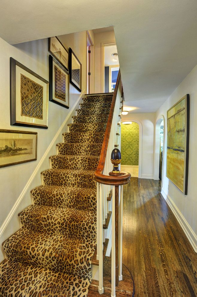 Runnings Bismarck Nd for a Traditional Staircase with a Framed Wall Art and Harrisburg Magazine Photo Story by Alan Wycheck Photography Inc.