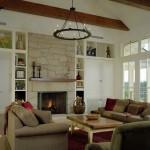 Rustic Living Room Ideas for a Rustic Living Room with a Candle and Rustic Living Room by Conardromano.com