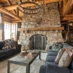 Rustic Living Room Ideas for a Rustic Living Room with a Timber and Cedar View by Pearson Design Group