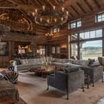 Rustic Living Room Ideas for a Rustic Living Room with a Windows and Rustic Living Room by Pearsondesigngroup.com