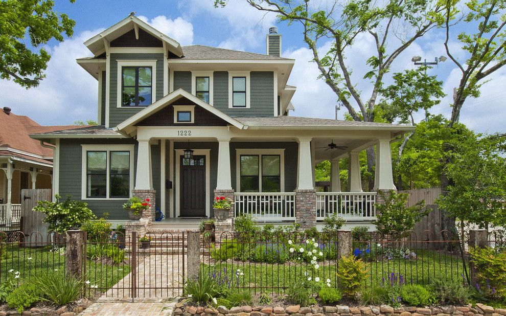 Ryland Homes Reviews for a Craftsman Exterior with a Iron Gate and Allston Residence by 2scale Architects