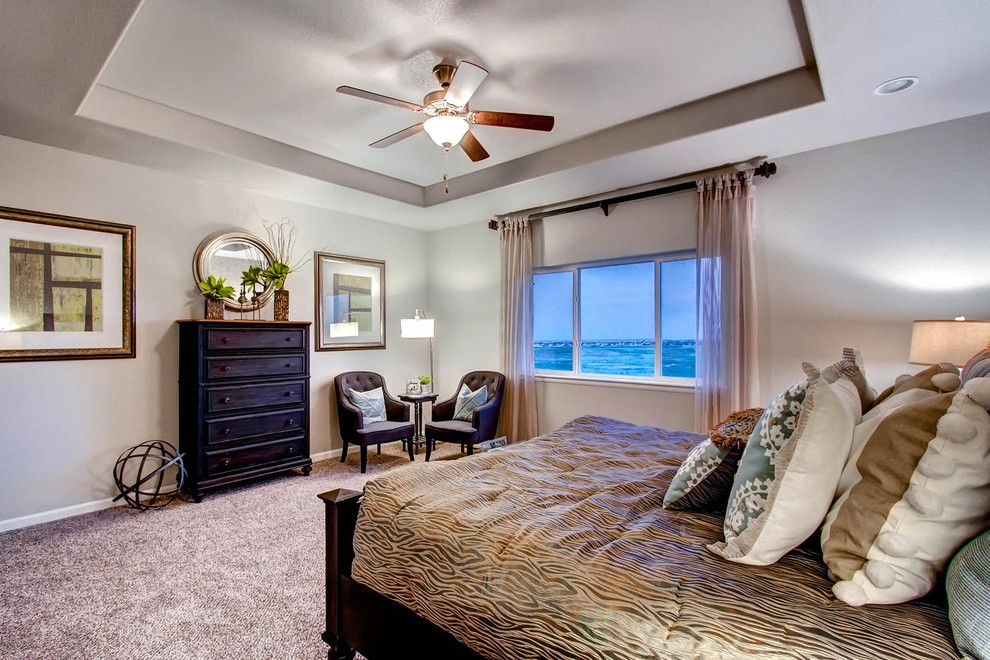 Saint Aubyn Homes for a Transitional Bedroom with a Transitional and 2015   Parade of Homes by Housing & Building Association of Colorado Springs