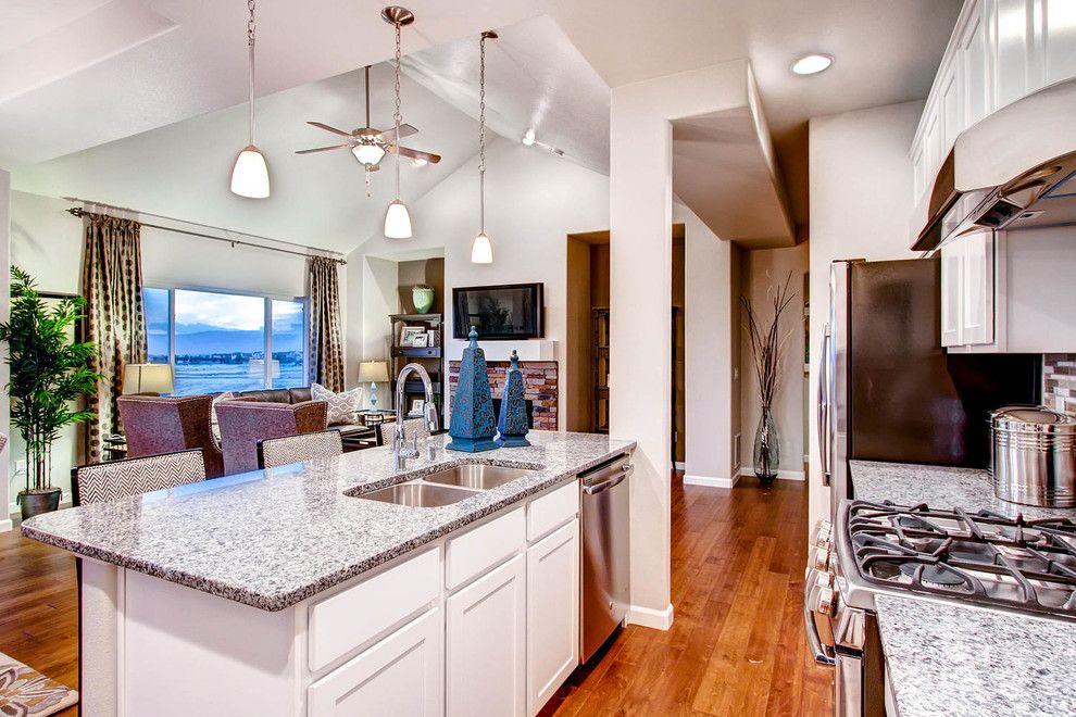 Saint Aubyn Homes for a Transitional Kitchen with a Transitional and 2015   Parade of Homes by Housing & Building Association of Colorado Springs
