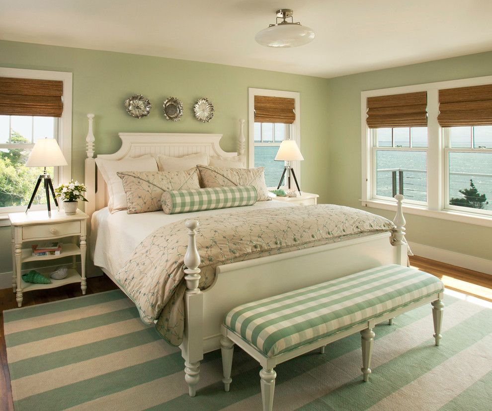 Sallys Store for a Beach Style Bedroom with a Tripod Lamp and Beach Style Bedroom by Ptdesignsinc.com
