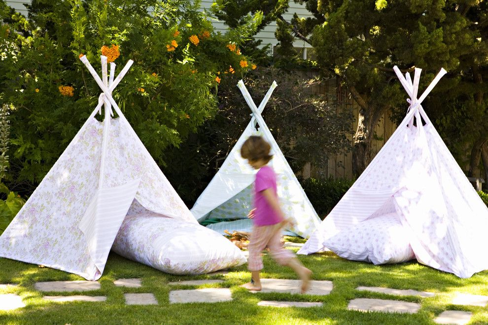 Sallys Store for a Eclectic Landscape with a Tipi and Tent by Annette Tatum
