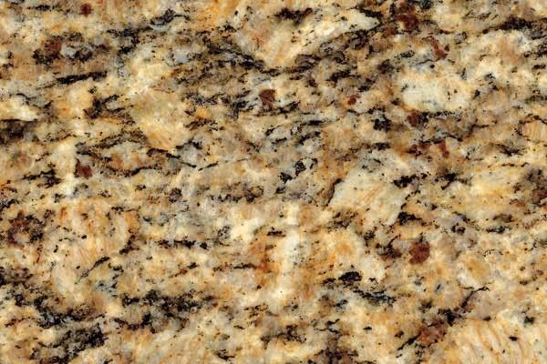 Santa Cecilia Light Granite for a Traditional Spaces with a Santa Cecilia Classic Granite and Santa Cecilia Granite for White Kitchen Cabinets by Fireplace & Granite Distributors