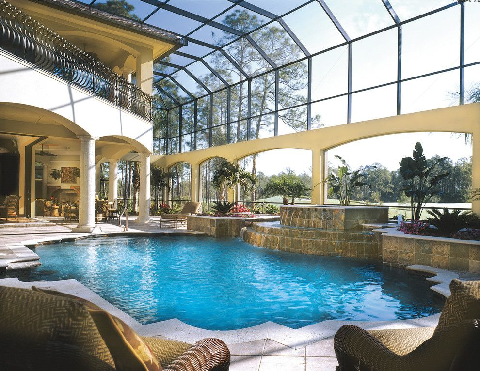 Sater Design For A Mediterranean Pool With A Italian