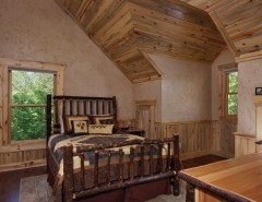 Satterwhite Log Homes for a Rustic Spaces with a Logs and Modified Misty Ridge - Ellijay, GA by Satterwhite Log Homes