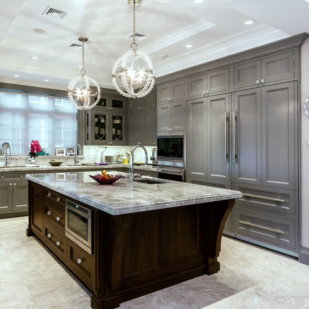 Scheels Home and Hardware for a Traditional Kitchen with a Gray and Brooklyn Home by Home & Stone