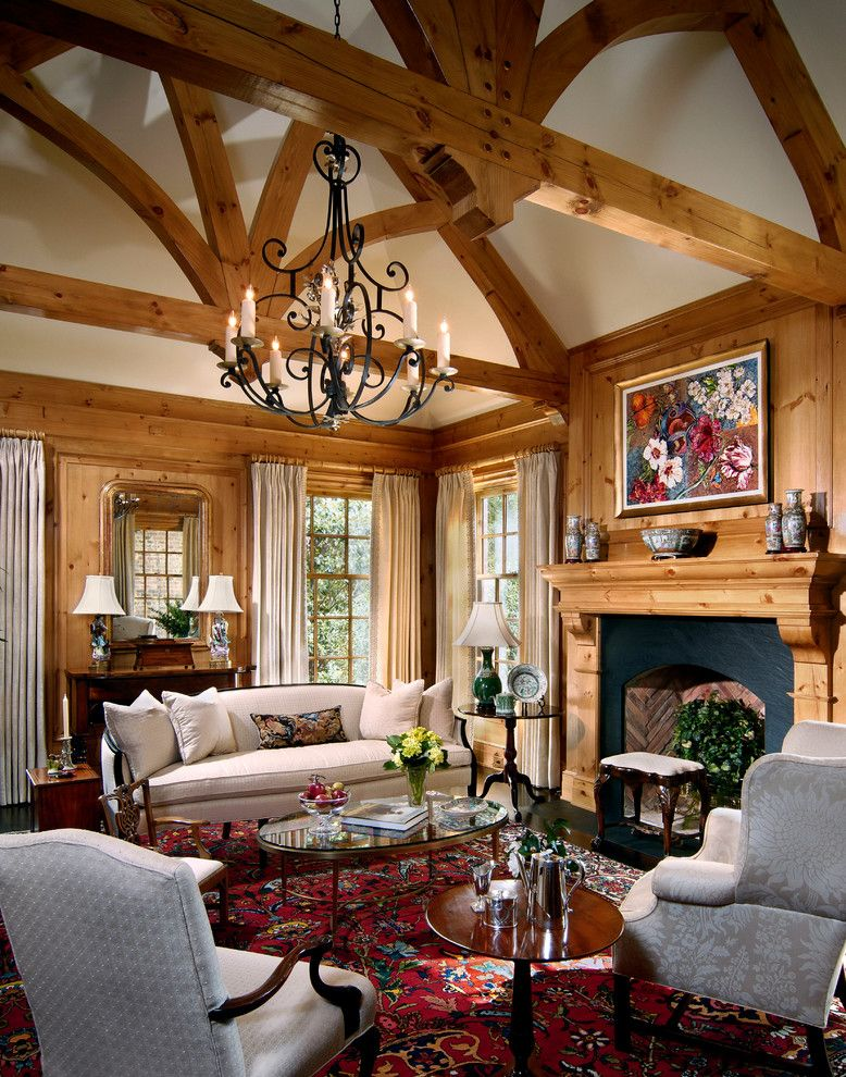 Schmitt Furniture for a Traditional Living Room with a Coffee Tables and Country Escape by Richard Skinner & Associates Architects