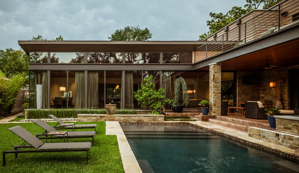 Schroder House for a Contemporary Pool with a Contemporary and Swananoah Residence by Stocker Hoesterey Montenegro