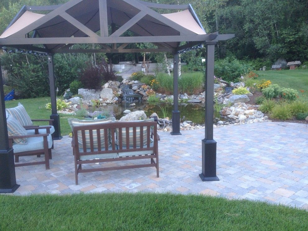 Sears Manchester Nh for a  Exterior with a Hopkinton Nh and Nh Outdoor Living Spaces & Patios by Firmly Rooted Landscaping
