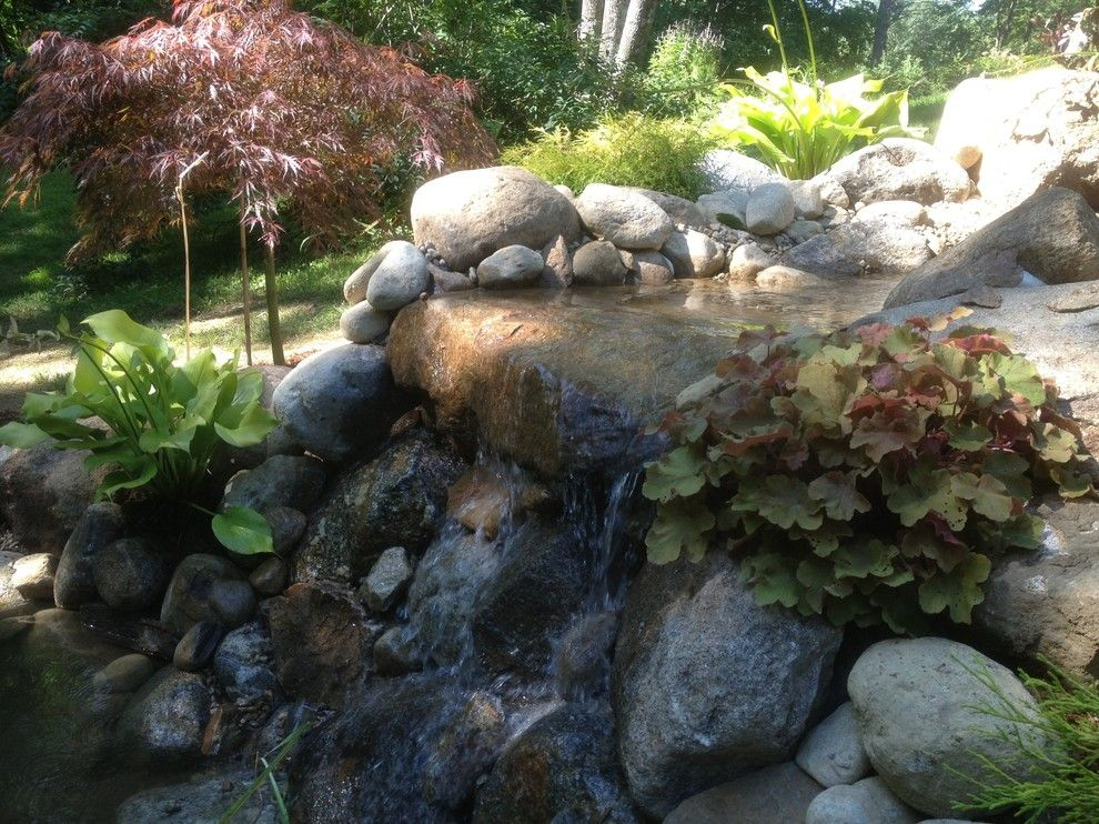 Sears Manchester Nh for a  Landscape with a Nh Water Gardens and Nh Home Water Gardens by Firmly Rooted Landscaping