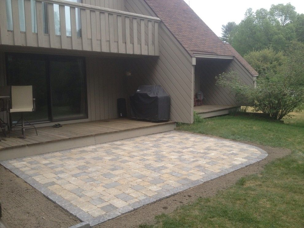 Sears Manchester Nh for a  Patio with a Goffstown Nh and Nh Outdoor Living Spaces & Patios by Firmly Rooted Landscaping