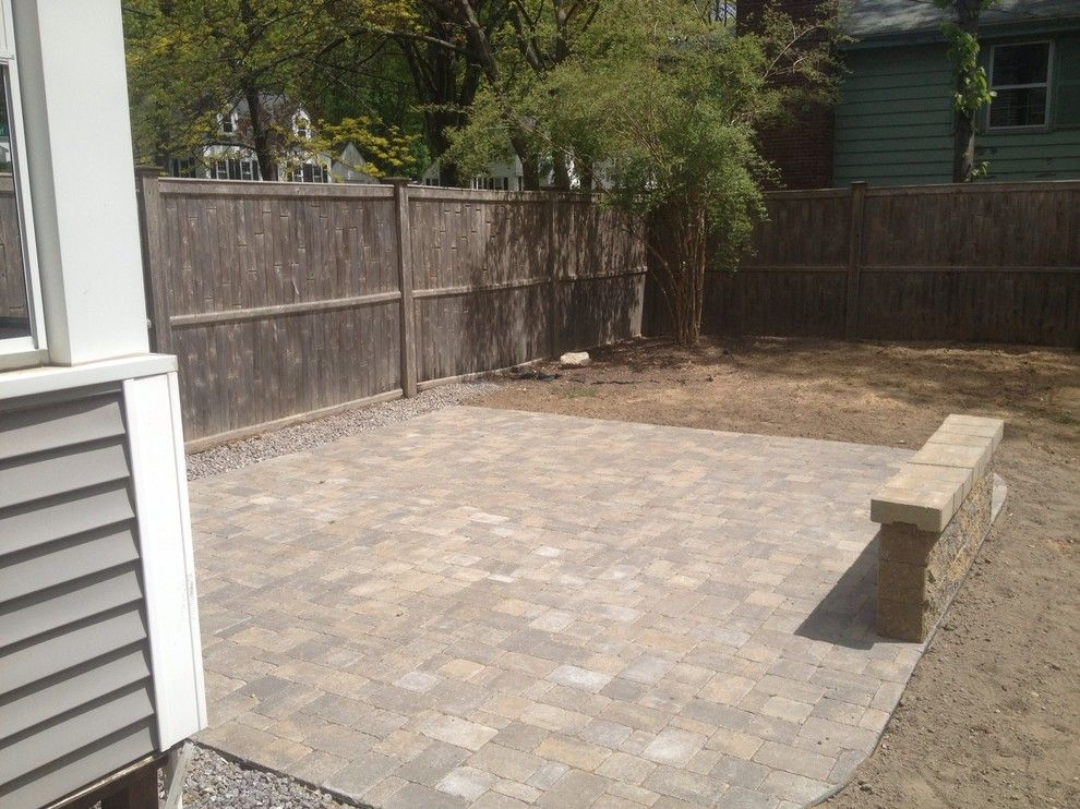 Sears Manchester Nh for a  Patio with a Nh Living Spaces and Nh Outdoor Living Spaces & Patios by Firmly Rooted Landscaping