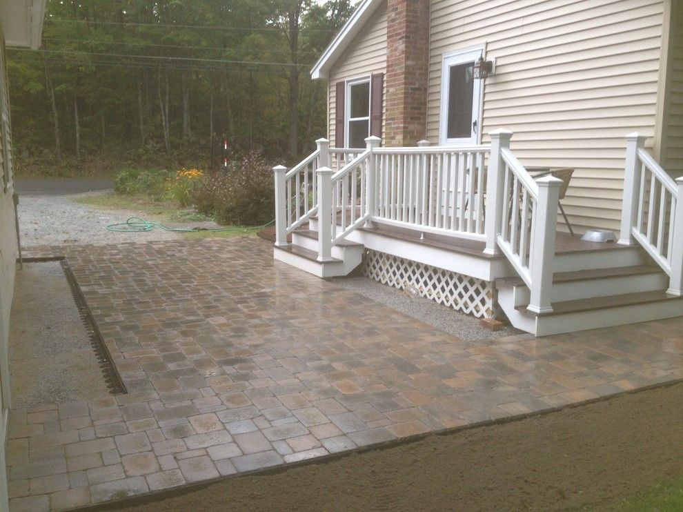Sears Manchester Nh for a  Patio with a Outdoor Living Spaces and Nh Outdoor Living Spaces & Patios by Firmly Rooted Landscaping