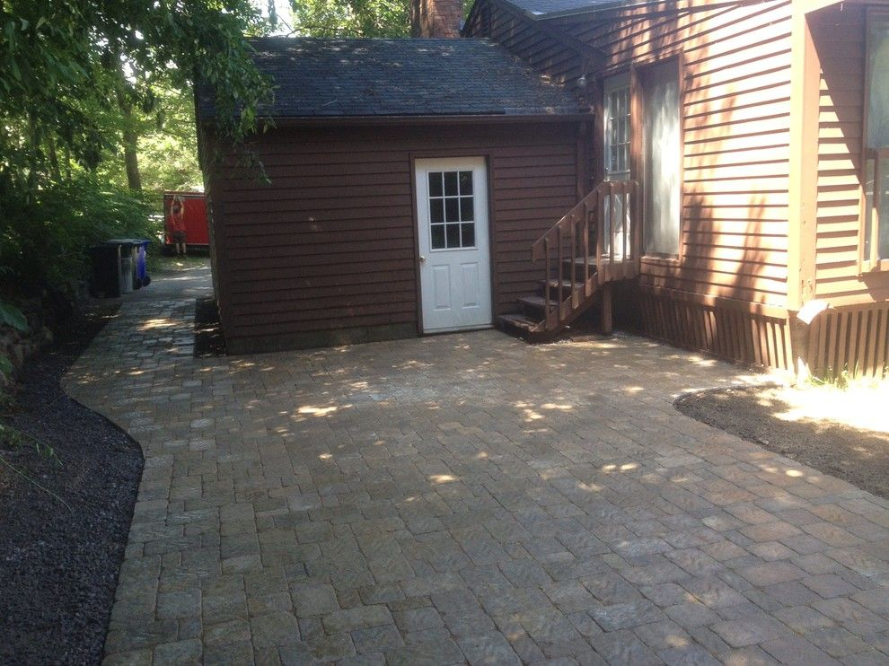 Sears Manchester Nh for a  Patio with a Weare Nh and Nh Outdoor Living Spaces & Patios by Firmly Rooted Landscaping