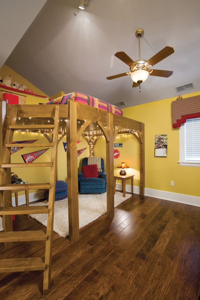 Sedlak Interiors for a Traditional Kids with a Loft Bed and Rocky River Renovation by Housetrends Magazine