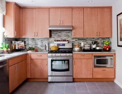 Sensa Granite for a Contemporary Kitchen with a Contemporary and Lowe's Kitchen Giveaway by Rikki Snyder